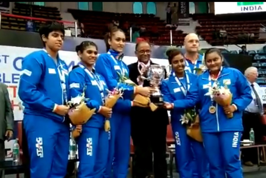 Commonwealth TT: Indian Men Defend Crown, Women Down Singapore For Maiden Title