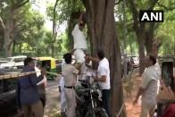 'Trying To Increase Height': Twitter Has A Laugh As Congress Man Climbs Tree To Hang Himself Without Rope