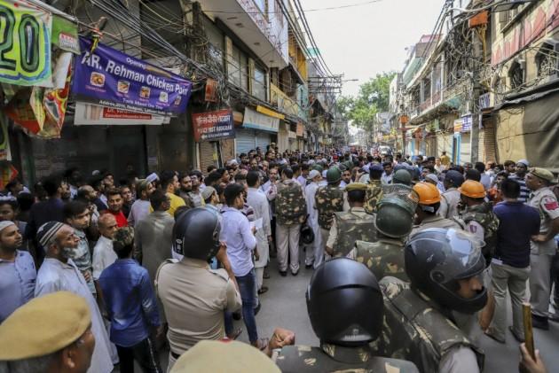 Parking Space Quarrel Takes Communal Turn In Delhi's Chawri Bazaar, Tension Prevails