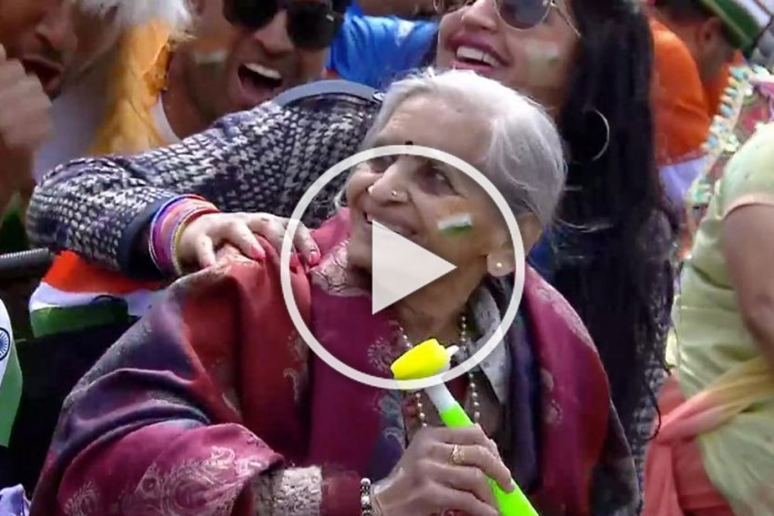 IND Vs BAN, Cricket World Cup: 87-Year-Old Fan, Charulatha Patel Wins Hearts With Her Lung-Bursting Celebrations – WATCH