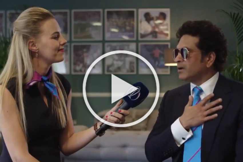 India Are Going To Win The Cricket World Cup, Feels Sachin Tendulkar – WATCH