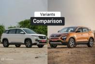 MG Hector vs Tata Harrier: Variants Comparison