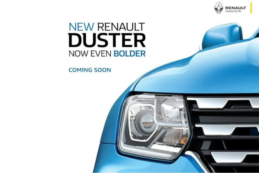 2019 Renault Duster Teased; Launch Soon