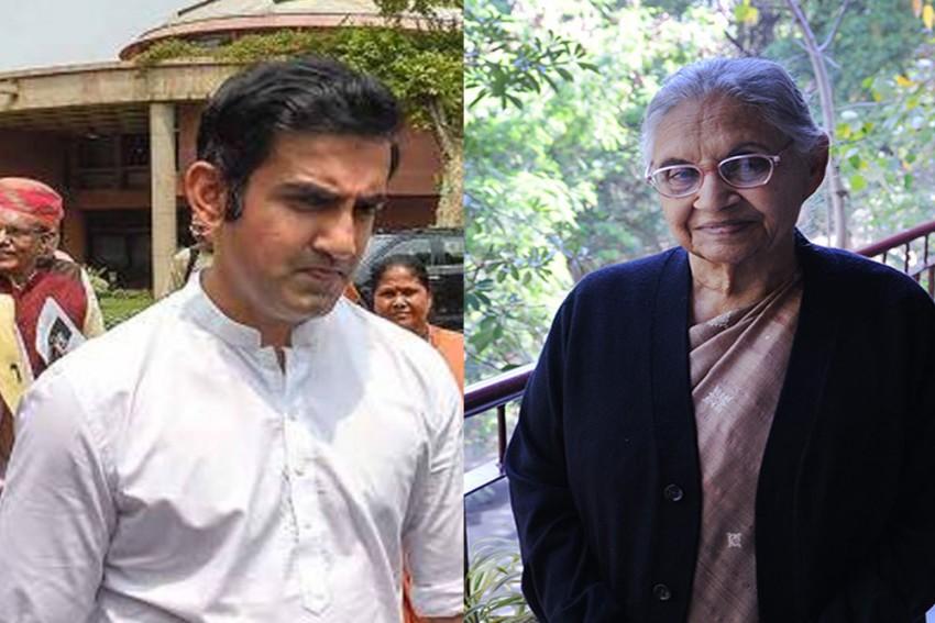 Former Cricketers Gautam Gambhir, Virender Sehwag Condole Former Delhi CM Sheila Dikshit's Demise