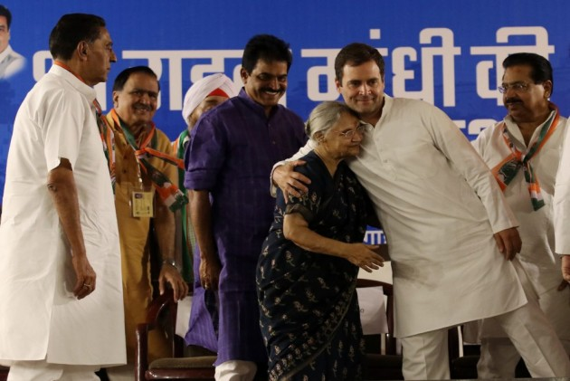 Sheila Dikshit Was A Beloved Daughter Of Congress: Rahul Gandhi