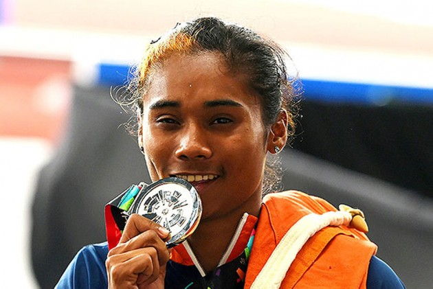 Image result for hima das with medals
