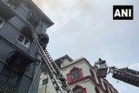 One Person Dead, Several Trapped After Fire Breaks Out At Building Near Taj Hotel In Mumbai