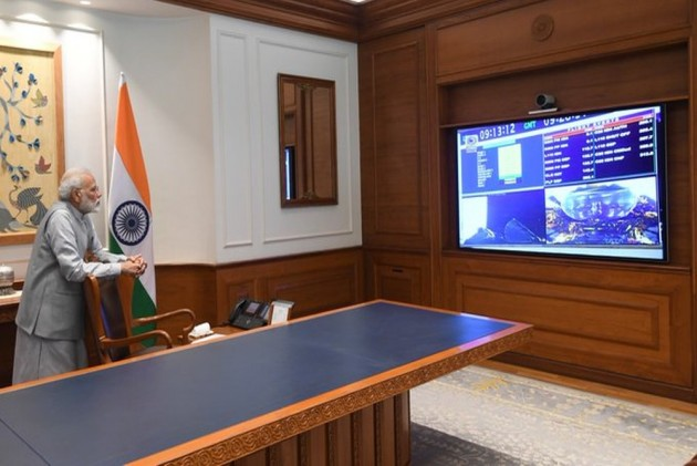 'India At Heart, India In Spirit,' Says PM Narendra Modi On Chandrayaan-2 Launch