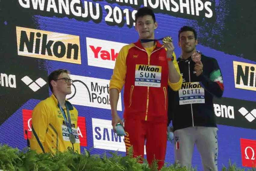 Rival Swimmers 'Don't Trust' China's Sun Yang As Doping Row Boils Over