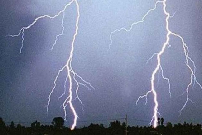 Lightning Strikes Kill 35 In Uttar Pradesh