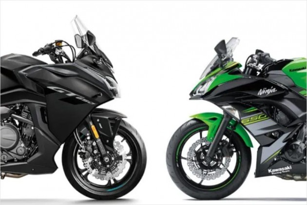 CFMoto 650GT vs Kawasaki Ninja 650: Spec Comparison