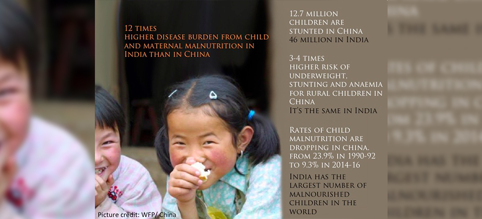 Rate Of Malnutrition Is Dropping In China. Can India Learn Lessons From Its Neighbour?