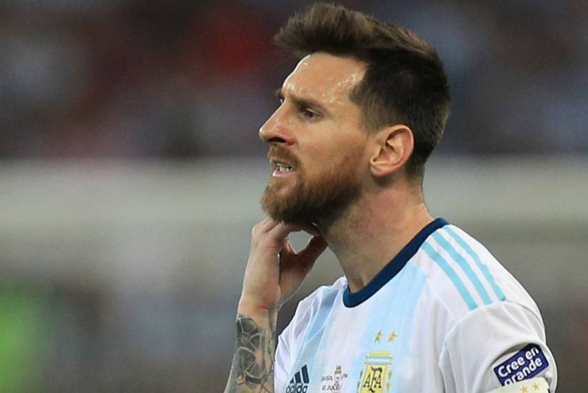 Lionel Messi Banned Fined For Copa America Red Card For Argentina Against Chile
