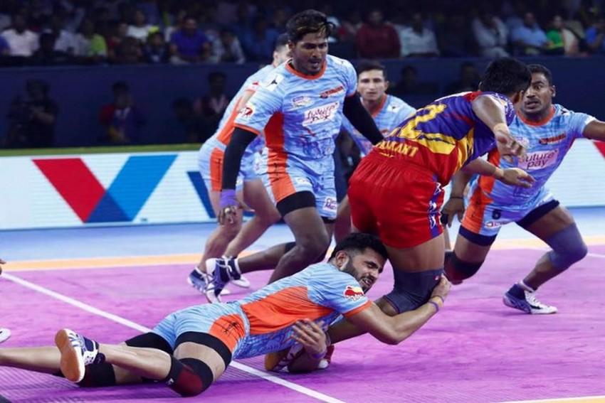 Pro Kabaddi League 2019: Bengal Warriors Notch Dominating Win Over UP Yoddha