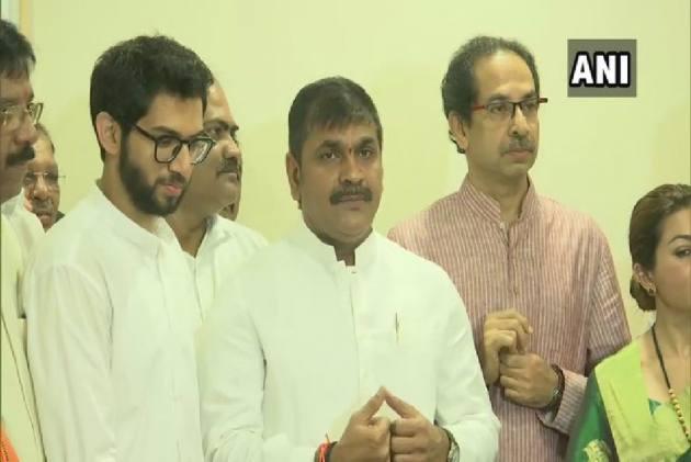 Ahead Of Elections In Maharashtra, Senior NCP Leader Sachin Ahir Joins Shiv Sena