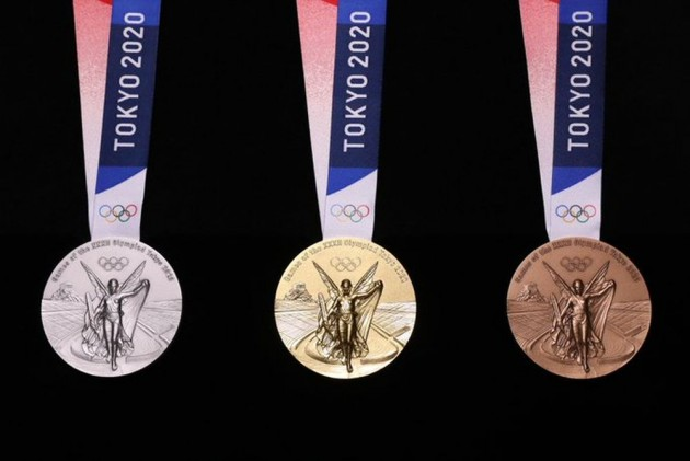 Light And Brilliance: Tokyo 2020 Unveils Olympic Medal Design