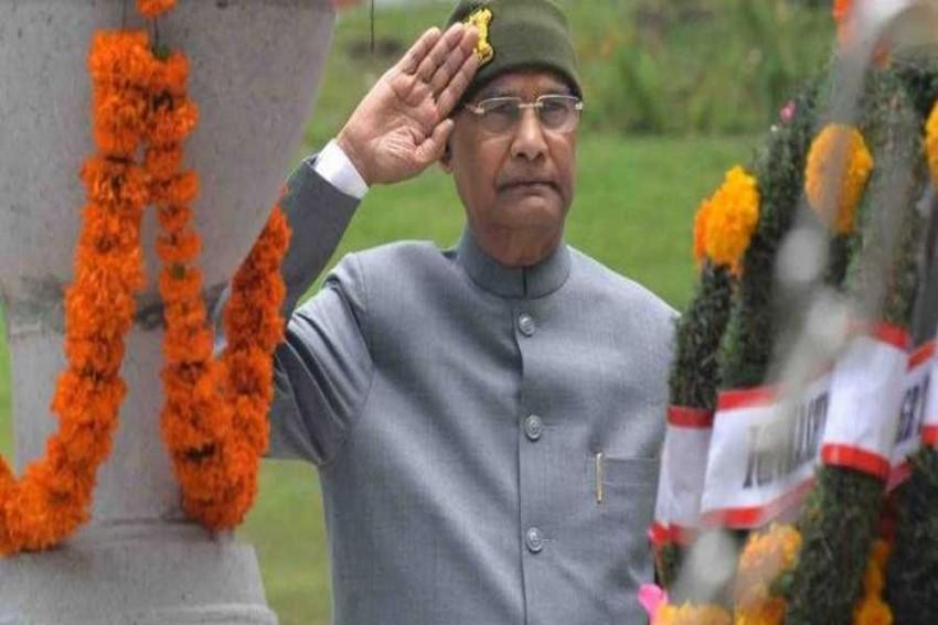 President Kovind Pays Tribute Kargil War Heroes At Srinagar