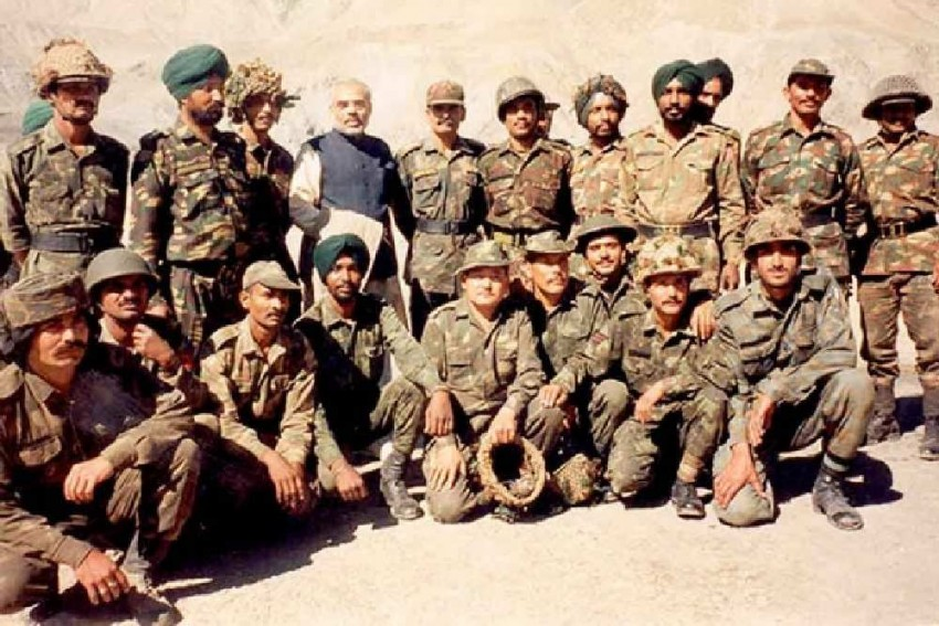 On Vijay Diwas, PM Modi Shares Photos Of 'Unforgettable' Time Spent With Jawans