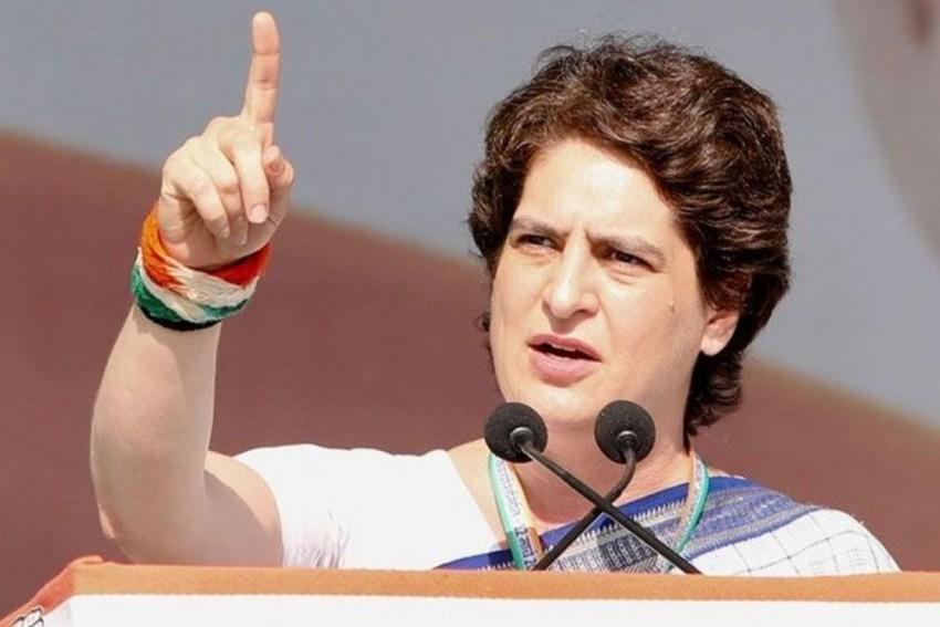 Priyanka Gandhi Slams UP Government Over Farmer Suicides