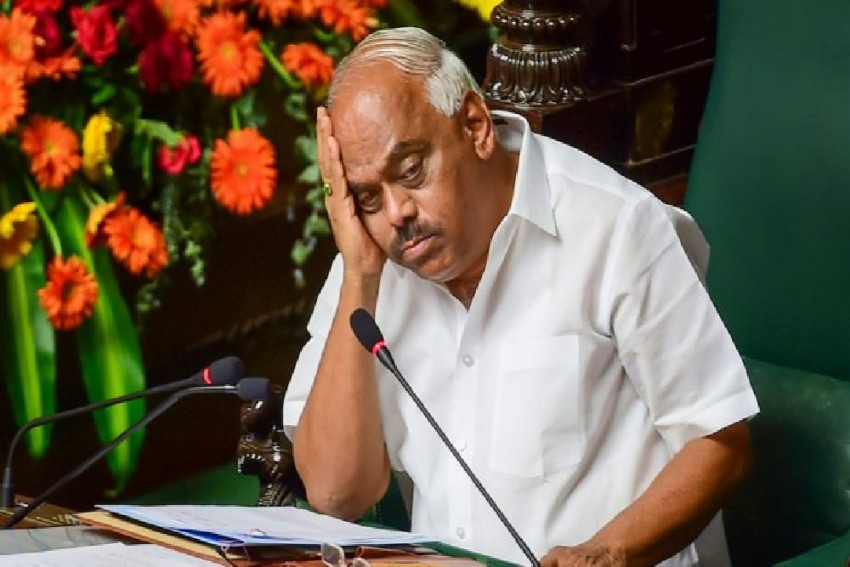 BJP May Move No-Confidence Motion To Oust Karnataka Assembly Speaker