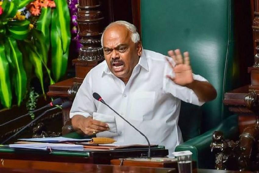 Karnataka Speaker K R Ramesh Kumar Disqualifies 14 Rebel MLAs Day Before Trust Vote Against Him