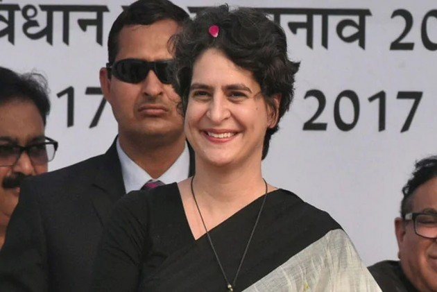 Congress Leader Priyanka Gandhi Gives Rs 10 Lakh Relief To Sonbhadra Victims