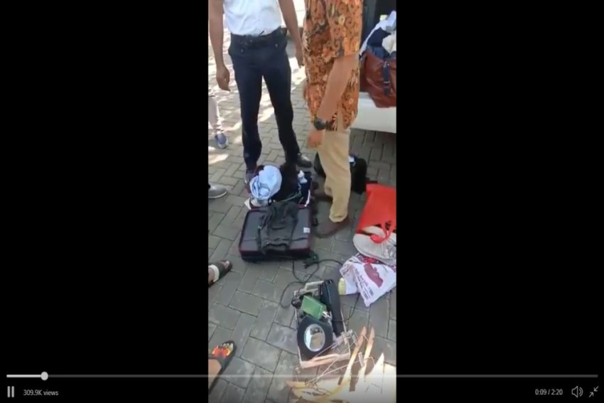 VIDEO: Indian Family Caught Stealing Hotel Accessories In Indonesia's Bali