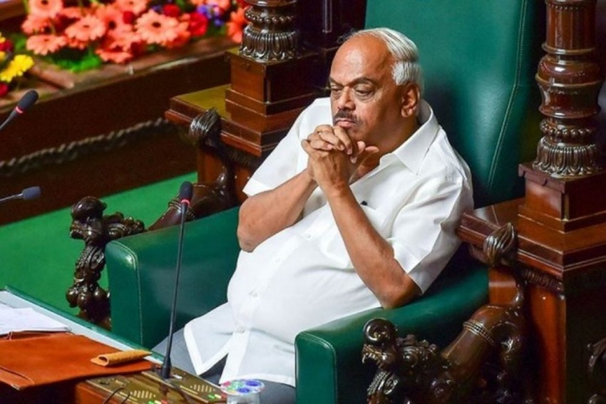 Karnataka Speaker K R Ramesh Kumar Resigns After Trust Vote Concludes