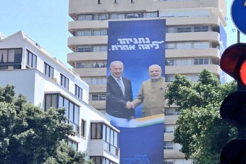 Netanyahu's Election Campaign In Israel Features PM Modi