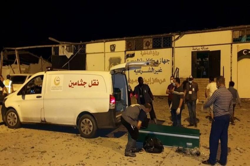 Libya: Atleast 40 Migrants Killed, 80 Injured In Air Strike On Detention Centre In Tripoli