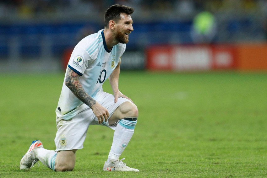 It Was 'Bulls***' – Lionel Messi Blasts Refereeing After Argentina's Copa America Loss