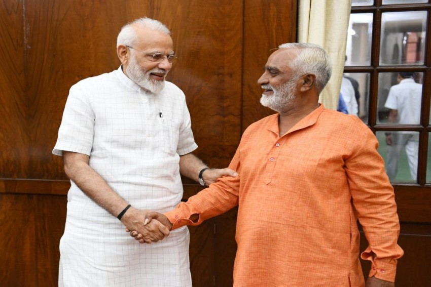 'Deeply Impressed By His Humility': PM Meets BJP Supporter Who Cycled From Gujarat To Delhi To Celebrate Party Victory
