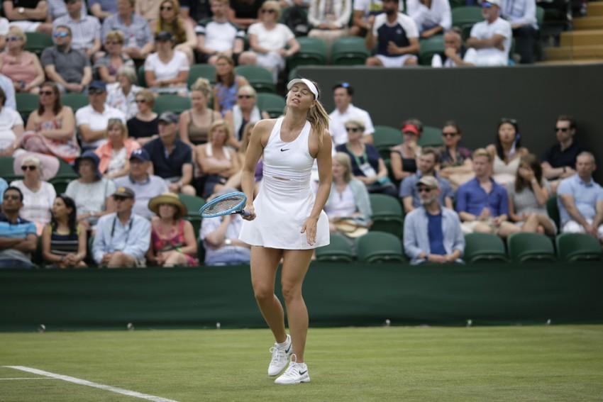 Garbine Muguruza And Maria Sharapova Out, Serena Williams Through At Wimbledon