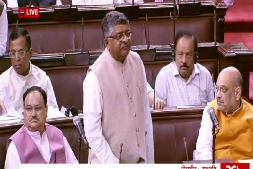 'Should Not Be Seen Through Political Prism': Ravi Shankar Prasad Moves Triple Talaq Bill In Rajya Sabha