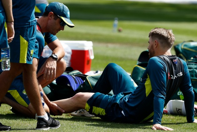 David Warner Suffers Bruised Thigh In Training Ahead Of Australia's Ashes Opener