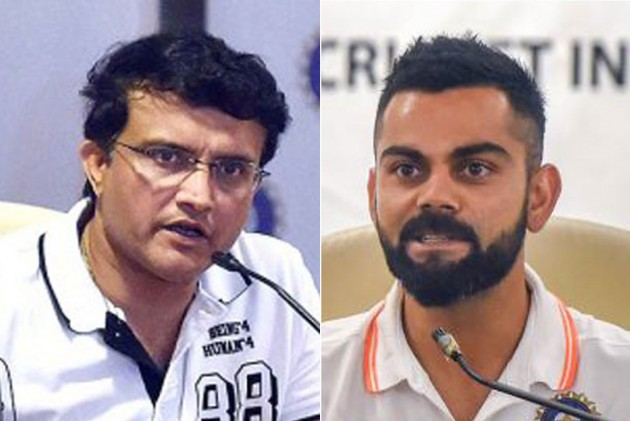 Ganguly Shoots Straight, Reminds Everyone What Rights Captain Kohli Has In Coach Selection