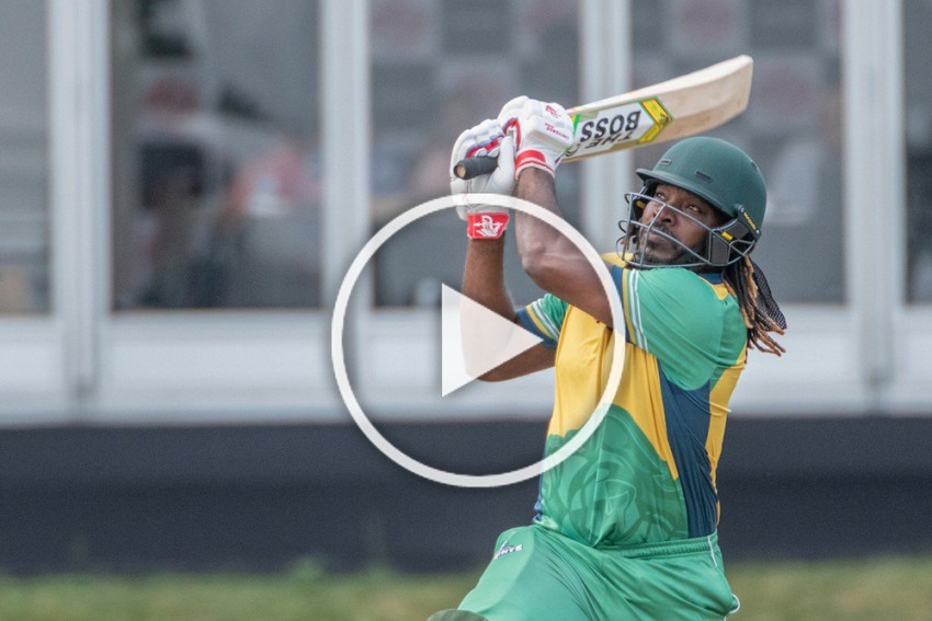 GT20 Canada: Chris Gayle Slams Majestic Ton, Leads Vancouver Knights To Second-Highest T20 Score – WATCH