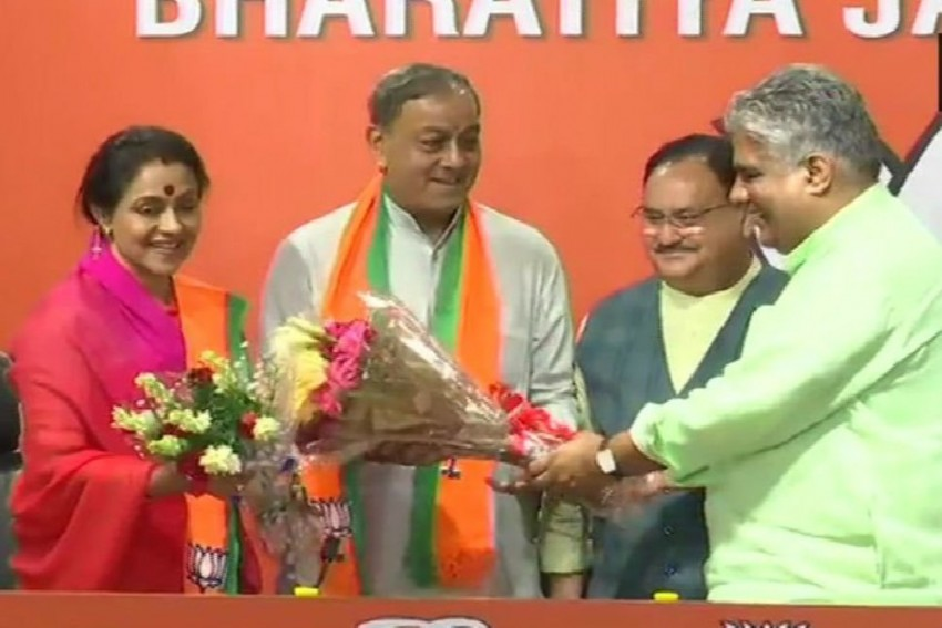 Day After Quitting Congress, Sanjay Sinh Joins BJP