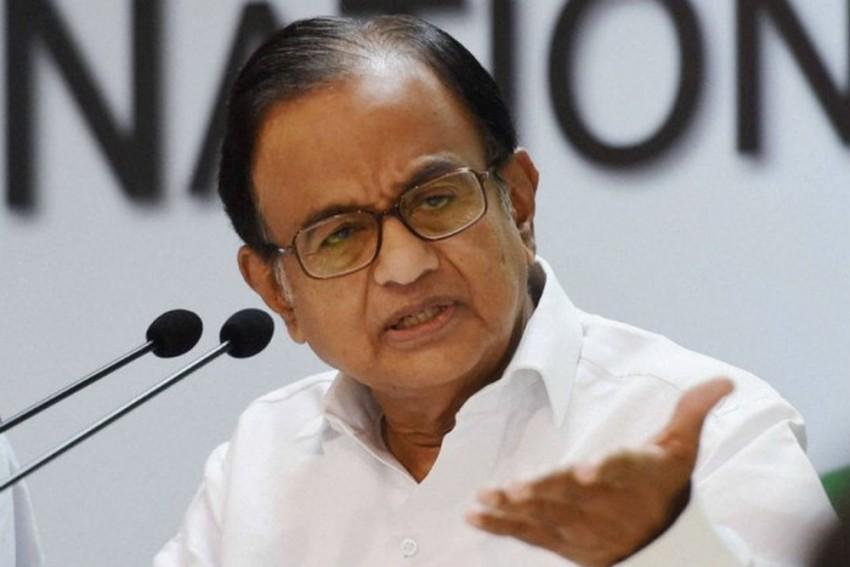 Economic Survey: Chidambaram Says Govt Appears To Be Pessimistic About Economy