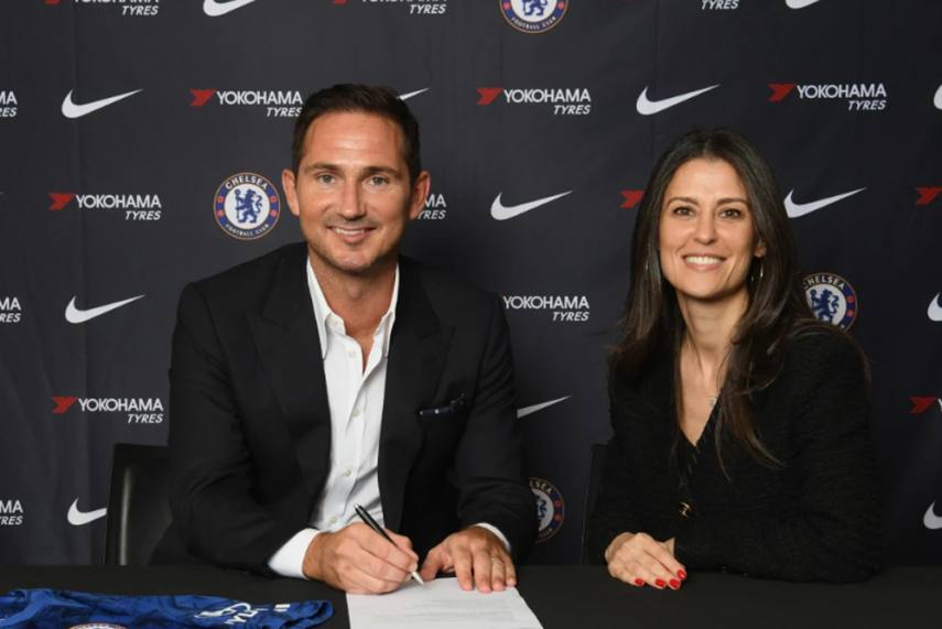 Twitter Reacts As Chelsea Confirm Frank Lampard's