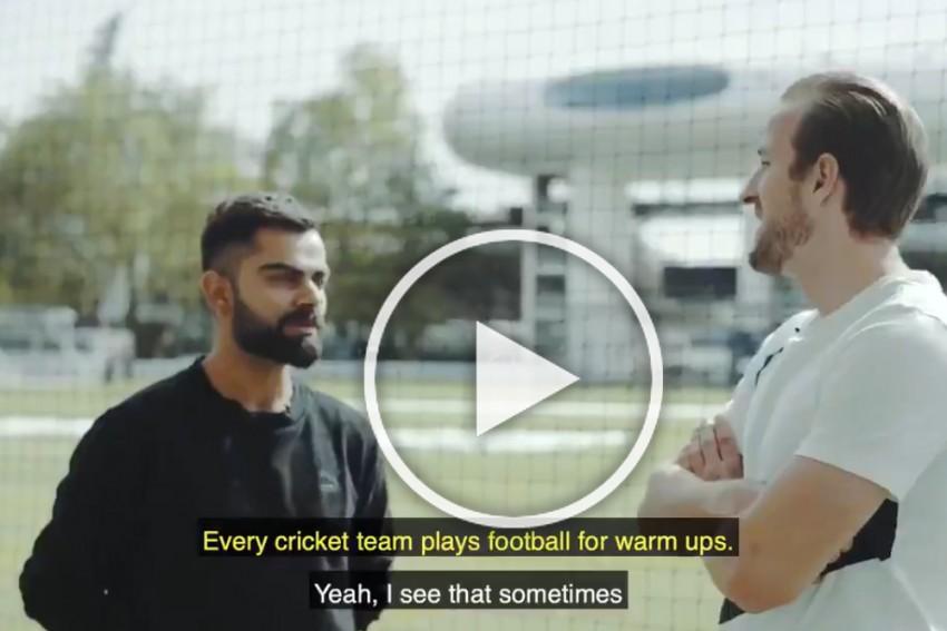 Cricket World Cup: India's Virat Kohli Meets Tottenham Hotspur's Harry Kane – WATCH