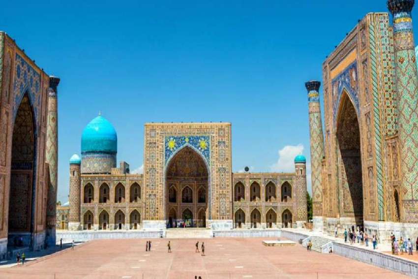 'Virtual Tours To Uzbekistan' Corner Is Opened In The Uzbek Embassy In Delhi