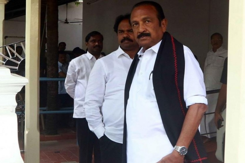MDMK's Vaiko Sentenced To 1 Year In Jail For 2009 Pro-LTTE Speech