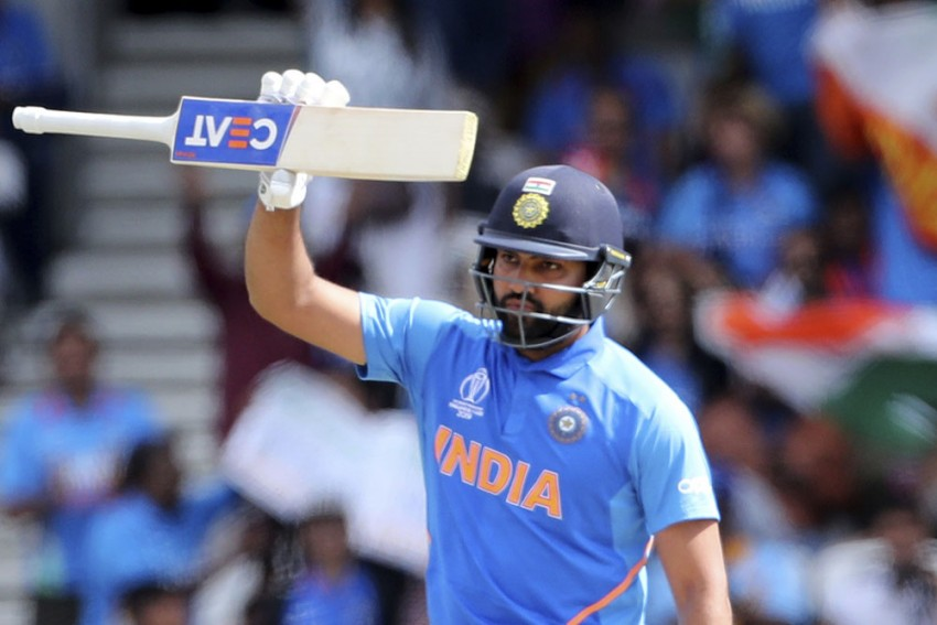 IND Vs SL: Rohit Sharma Becomes First Ever Batsman To Hit Five Centuries In A Single ICC Cricket World Cup