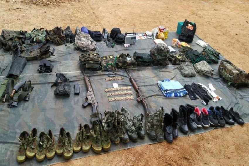 Army Busts Hidden Insurgent Camp Of NSCN(IM) In Manipur