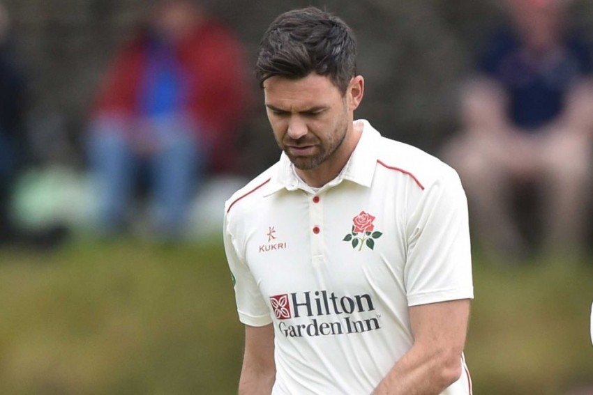 England's James Anderson In Ashes Fitness Race After Calf Injury