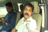 'On Membership Drive:' BJP MLC Spotted Outside Hotel Where Congress-JD(S) MLAs Are Lodged