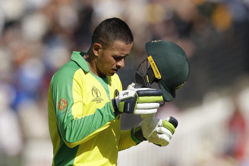 Australia's Usman Khawaja Ruled Out Of Remainder Of Cricket World Cup