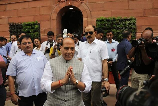 'Rahul Gandhi Started Trend Of Resignation In Congress; We Have Nothing To Do With Karnataka Crisis': Rajnath Singh