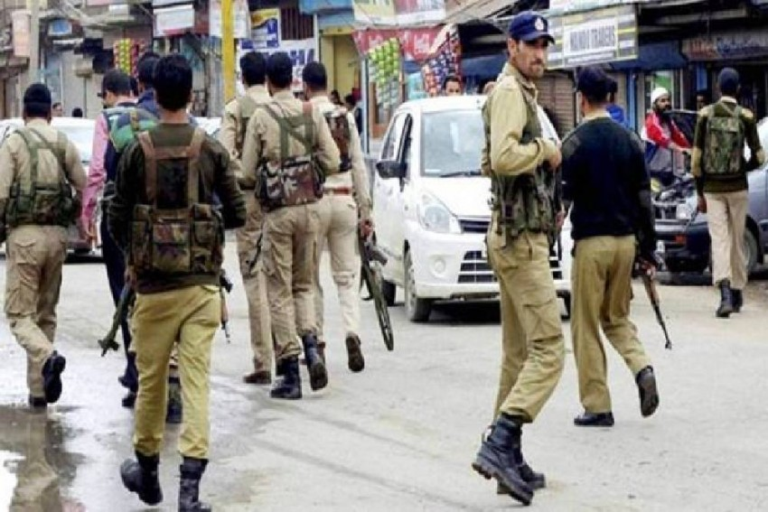 Security Tightened In Kashmir Valley Ahead Of Third Death Anniversary Of Burhan Wani
